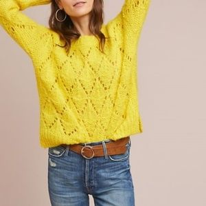 New Anthroplolgie Bright Lights Sweater